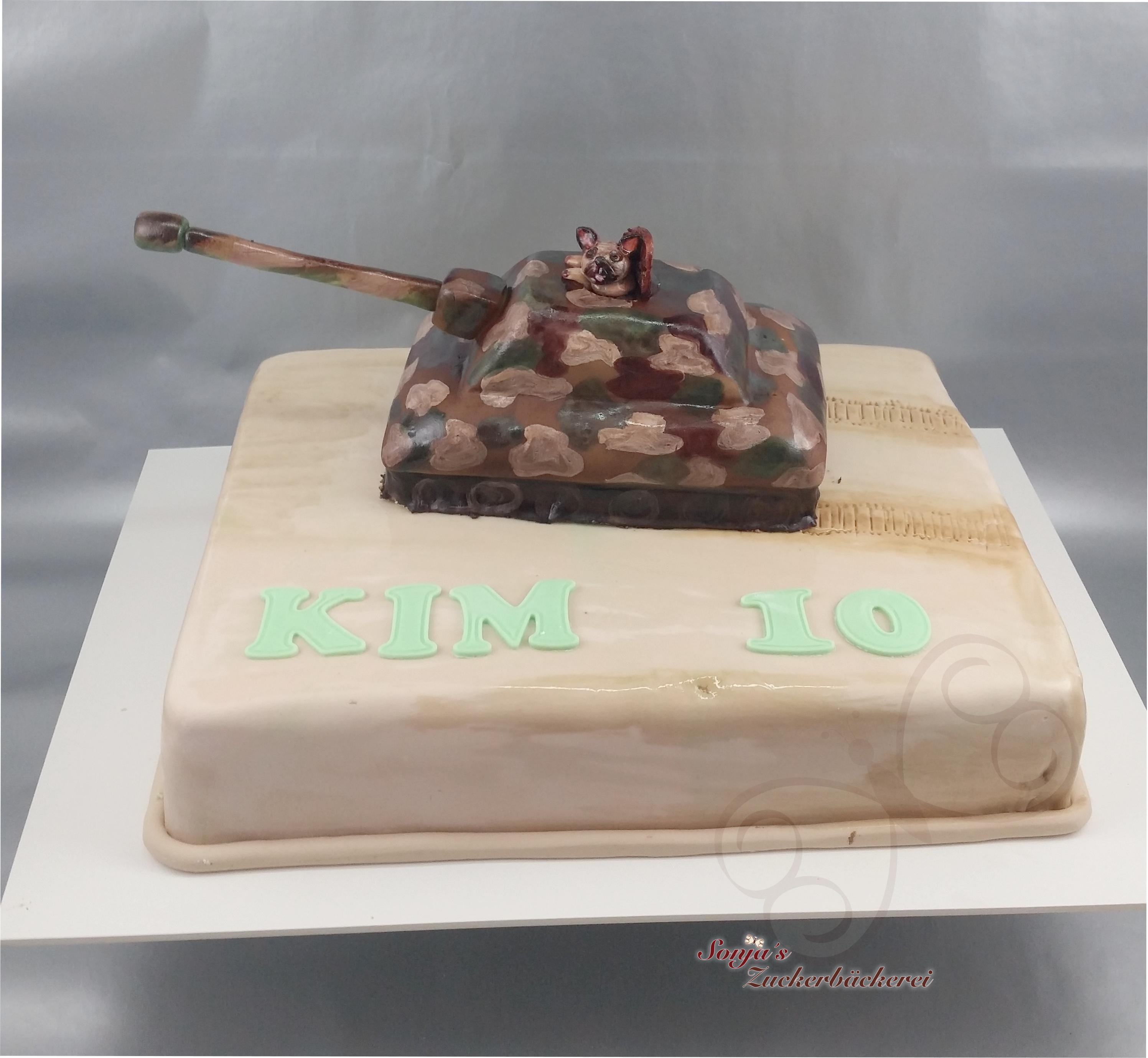 Rechteckige Torte Zum 10 Geburtstag Sonjas Zuckerbäckerei